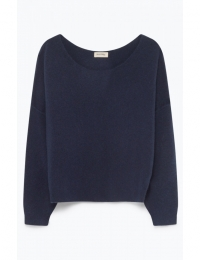 Damsville Jumper Navy Chine
