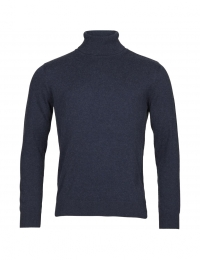 Roll Neck Wool Total Eclipse