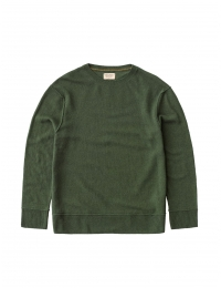 Tony Boiled Wool Olive