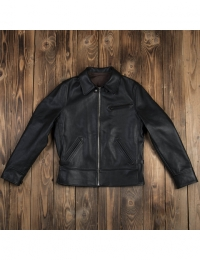1932 Roadster Jacket Black Lthr