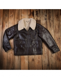 1943 ANJ-4 Flight Jacket Brown
