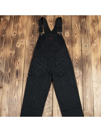 1953 Mechanic Bib Black Wabash