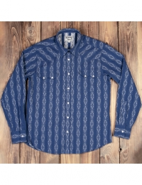 1963 Saw Tooth Shirt Mojave Blue