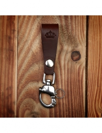 1965 Heavy Duty Key Hanger Dark Brown