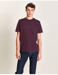 Ano01 T1410 T-Shirt Stripe A