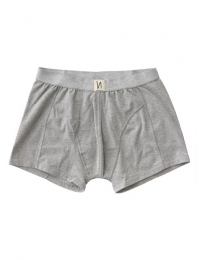 Boxer Brief Solid Grey Mel