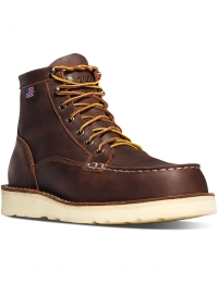 Bull Run Moc Toe 6 inch Brown