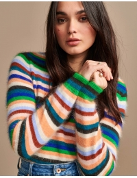Dattor Sweater K1014S Stripe A
