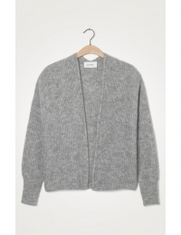 East Gilet Gris Chine