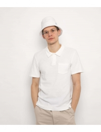 FT POLO Shirt WITH POCKET White