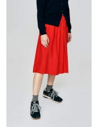 Houx01 P1275 Skirt Massai Red