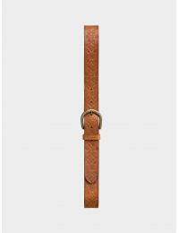 Jackson Western Belt Toffee Brown
