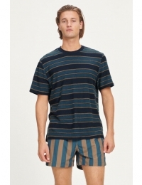 Katlego Tee 11600 Sky Captain Stripe