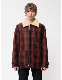 Mangan Lumber Jacket Brick Red