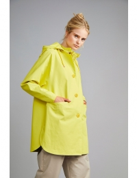 Mira short coat lemon