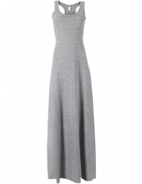 RACERBACK MAXI DRESS GREY