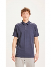 Rowan Striped Polo Total Eclipse
