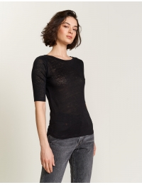 Seas92 T1302 T-Shirt Off Black
