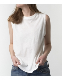 Sleeveless Top White