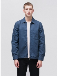 Sten Zip Canvas Oden Blue