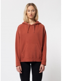 Stina Hoodie Burnt Red