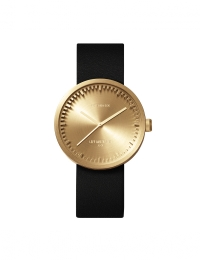 Tube Watch D38 Brass Black Ltr