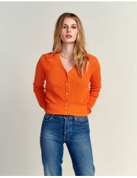 Uoss K1099U Knitwear Orange
